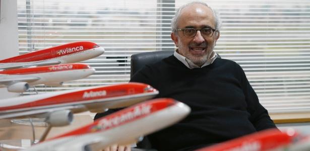 José Efromovich é cofundador da Ocean Air, que mudou de nome para Avianca Brasil - Junior Lago/UOL