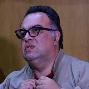 O ex-deputado André Luiz Vargas (sem partido-PR) na CPI da Petrobras - Gisele Pimenta - 12.mai.2015/Frame/Frame/Estadão Conteúdo