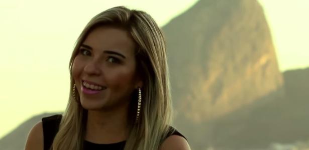 "Meiryelle Martins no vídeo ""Só Bebo Coca"", paródia do hit ""Call me Maybe"" - Reprodução"