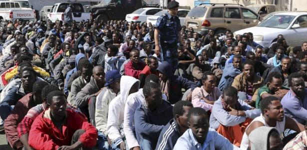 Maioria dos migrantes é proveniente da Somália e da Etiópia