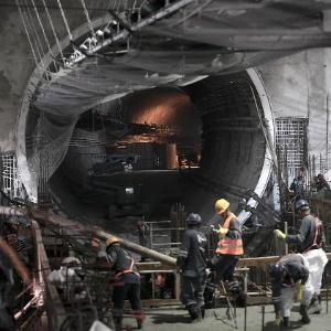 A Linha 4 do Metrô do Rio de Janeiro, em Ipanema, foi inaugurada neste ano