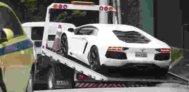 A Lamborghini de Eike Batista chegou a ser apreendida pela Justiça em 2015 - Xande Nolasco/Parceiro/Agência O Globo - Xande Nolasco/Parceiro/Agência O Globo