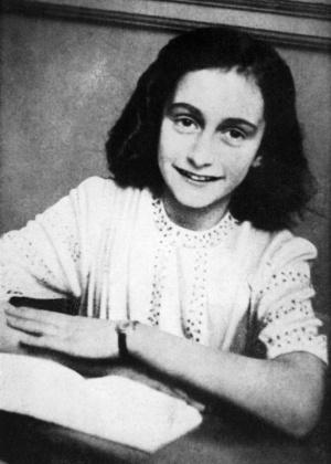 A jovem judia Anne Frank - AFP