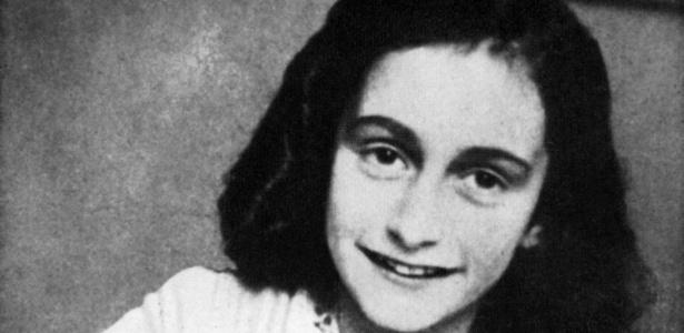 Anne Frank em foto sem data definida - AFP