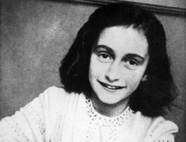 Anne Frank, a jovem que morreu em um campo de concentração nazista - AFP
