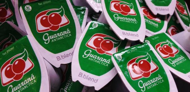 Cápsulas de Guaraná Antarctica para a máquina de bebidas B.blend - Priscila Pagliuso
