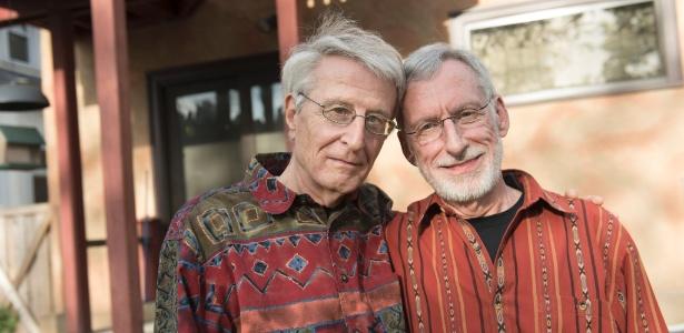 Jack Baker e Michael McConnell, que casaram em 1971 nos EUA e iniciaram as batalhas jurídicas em busca da legalização do casamento entre pessoas do mesmo sexo