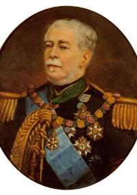 Duque de Caxias, em retrato do pintor Joaquim da Rocha Fragoso