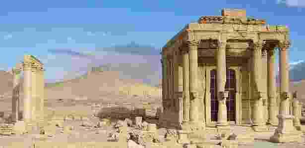 Templo de Baalshamin foi erguido em homenagem a um deus, na cidade de Palmira  - iStock