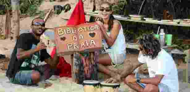 Adalberon Omena/Biblioteca da Praia