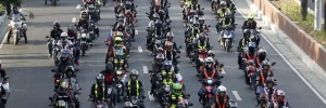 Segurem seus capacetes, o Google Maps para motos começa a acelerar; entenda (Foto: Francis R. Malasig/EFE)
