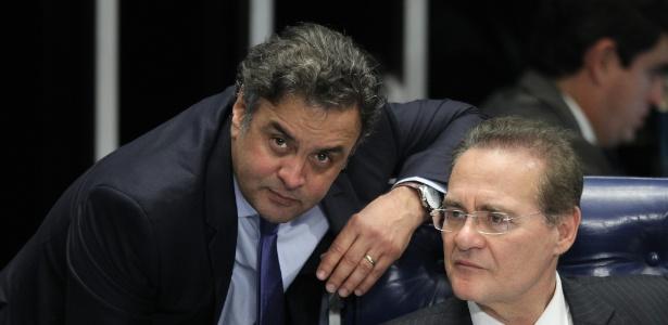Renan Calheiros citou Aécio Neves em gravações feitas por Sérgio Machado