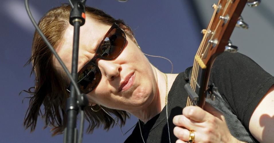 Suzanne Vega em apresentação no Rock in Rio
