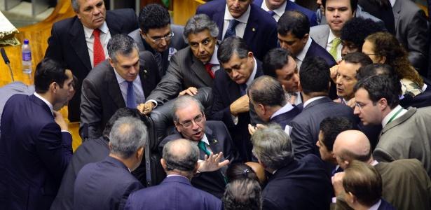 Sessão da Câmara dos Deputados em que foram votados mais itens da reforma política