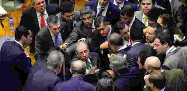 Sessão da Câmara dos Deputados em que foram votados mais itens da reforma política - J.Batista - 28.mai.2015/Câmara dos Deputados