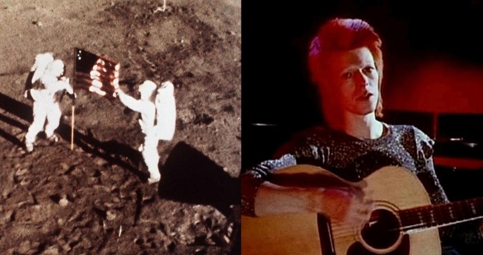 Chegada do homem à Lua - David Bowie, Space Oddity