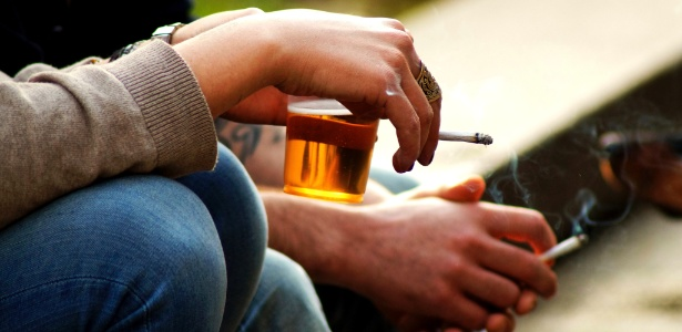 Se não houver bastante acionará para deixar de fumar