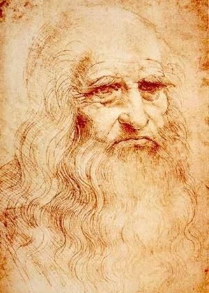 Autorretrato de Leonardo da Vinci, que ganha exposição em aeroporto italiano - Wikimedia Commons