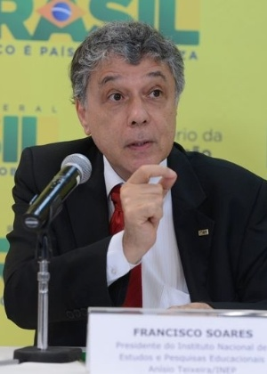 Francisco Soares, presidente do Inep