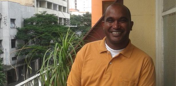 Marcelo Santiago passou na primeira posição em concurso para auxiliar de limpeza