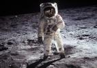 Astronauta conta como foi tirada a primeira foto do homem na Lua (Foto: Nasa)
