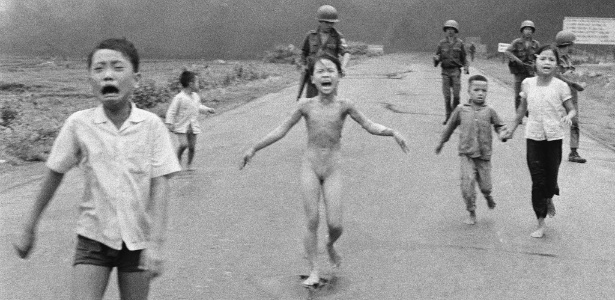 Em 8 de junho de 1972, o fotógrafo Nick Ut registrou a foto que viria a ser o símbolo da Guerra do Vietnã