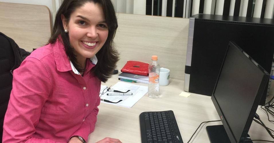 A curitibana Noemi Vergopolan Rocha, 24, conquistou uma bolsa de doutorado na Universidade de Princeton, nos Estados Unidos