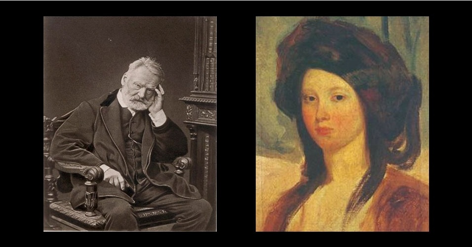 Victor Hugo e Juliette Drouet