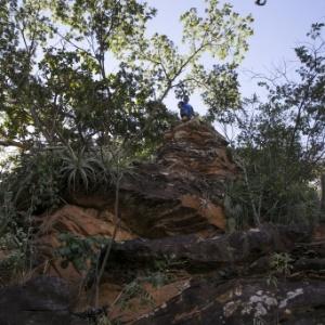 Meninas violentadas foram jogadas de cima deste penhasco em Castelo do Piauí  - Fábio Braga/Folhapress