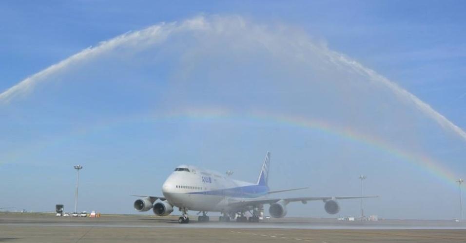 Avião da ALL NIPPON AIRWAYS (ANA)