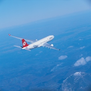 Avião da companhia Turkish Airlines