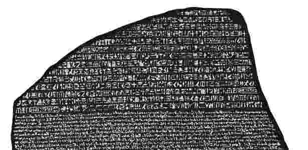 Pedra de Roseta - Wikimedia Commons - Wikimedia Commons