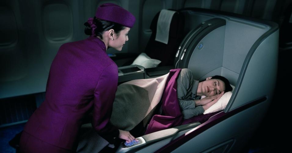 Serviço de bordo da Qatar Airways
