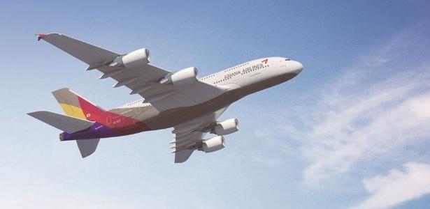 11º LUGAR: ASIANA AIRLINES - A empresa da Coreia do Sul, criada em 1988, caiu da oitava posição, em 2014, para a 11ª em 2015