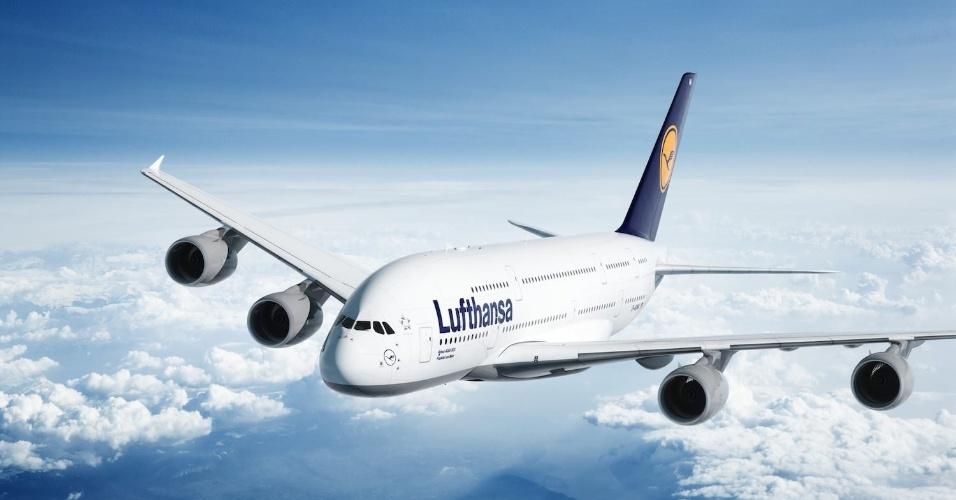 12º LUGAR: LUFTHANSA - A companhia aérea alemã caiu para o 12º lugar em 2015. No ano passado, tinha ficado com a 10ª colocação
