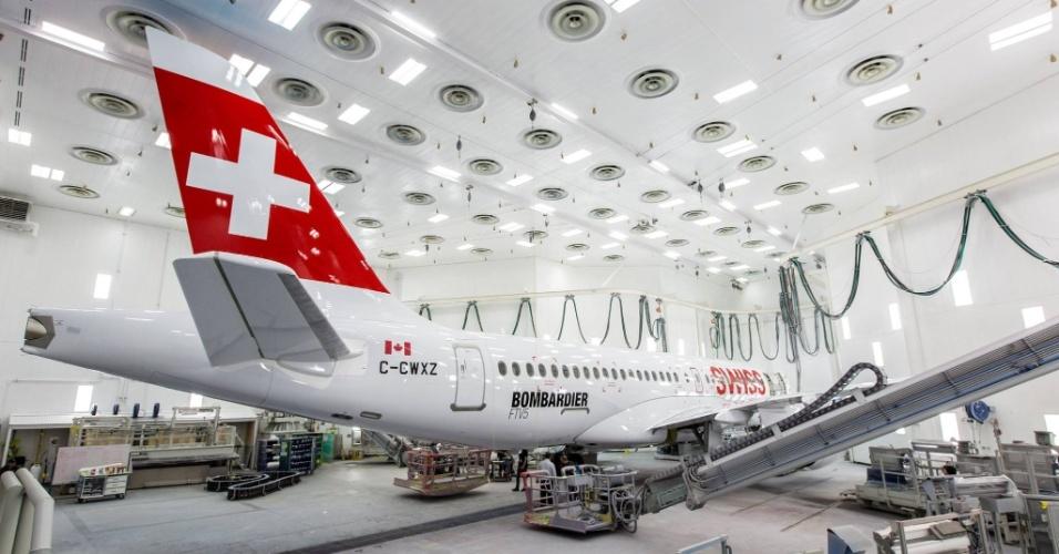 14º LUGAR: SWISS AIRLINES - A companhia aérea suíça ficou na 14ª posição entre as melhores empresas do mundo em 2015. No ano passado, tinha ficado com a 13ª colocação