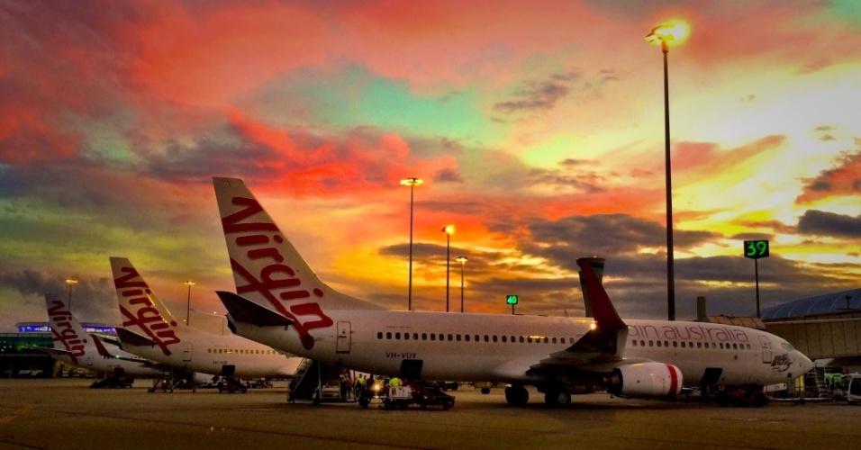 16º LUGAR: VIRGIN AUSTRALIA - A aérea australiana caiu da 15ª posição em 2014 para o 16º lugar este ano