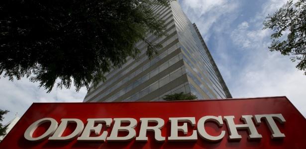 Fachada do prédio da Odebrecht, em São Paulo