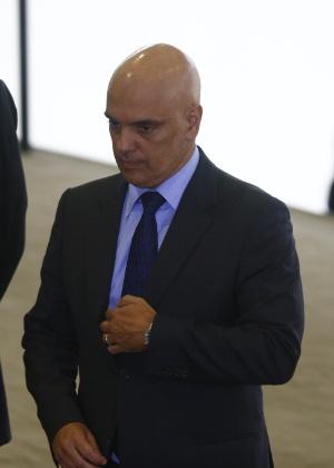 06.fev.2017 - Alexandre de Moraes, então ministro da Justiça, durante solenidade de anúncio das novas medidas no programa Minha Casa, Minha Vida