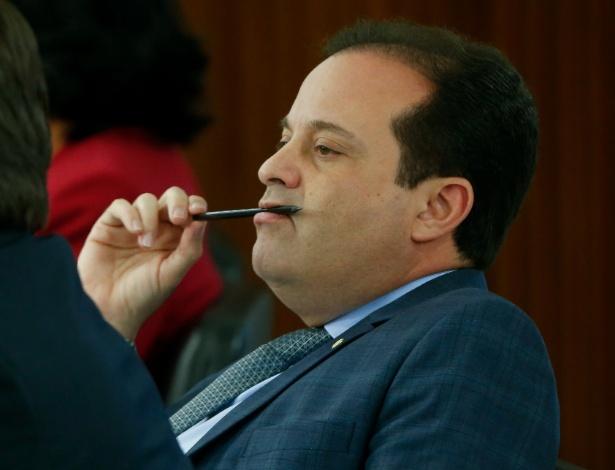 O líder do governo na Câmara dos Deputados, André Moura, em foto de arquivo