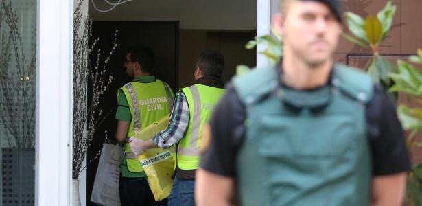 Corpo da mulher foi encontrado por membros da Guarda Civil espanhola