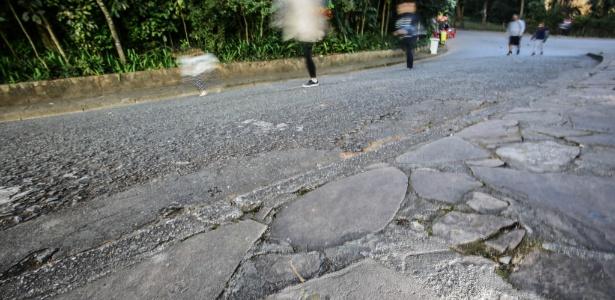 Zoológico de São Paulo tem pedras com vestígios de animais de 140 milhões de anos - Gabriela Biló/Estadão Conteúdo