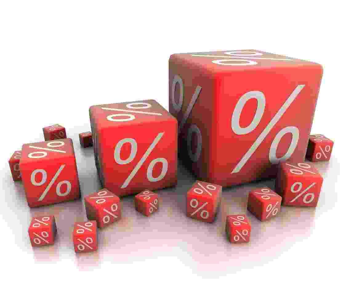 juros, taxa de juros, promoção, desconto, liquidação, selic - Getty Images