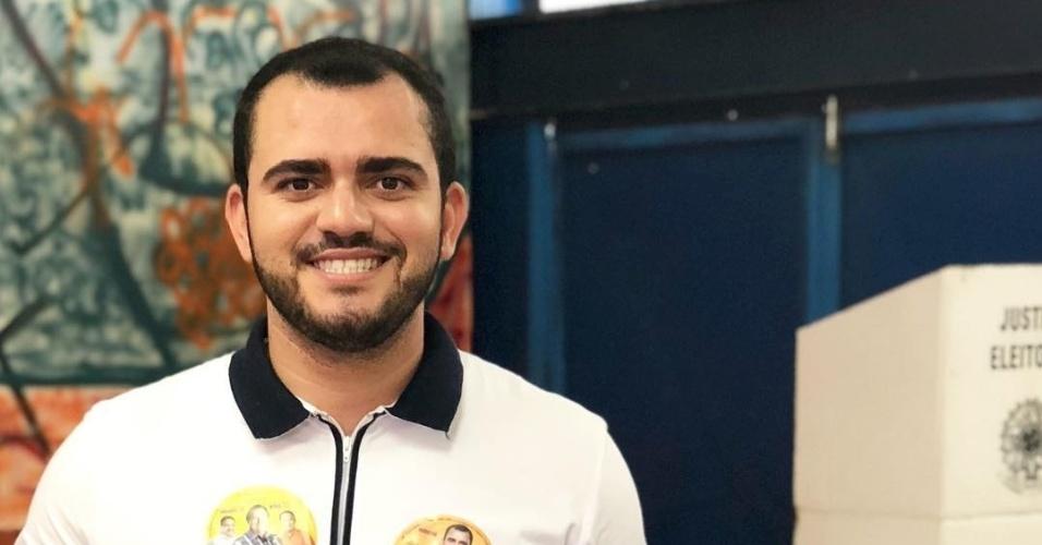 10.out.2018 - O vereador Leo Barbosa (SD), de 29 anos, foi o candidato a estadual mais bem votado do Tocantins. Ele teve 23.477 votos