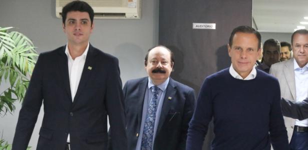 11.out.2018 - João Doria recebe apoio do PRTB a sua candidatura ao governo de SP
