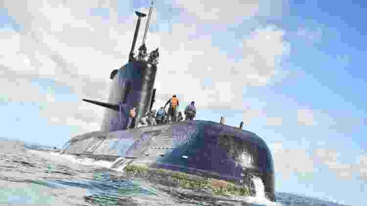 ARA San Juan levava 44 tripulantes quando perdeu comunicação e sumiu dos radares - EPA - EPA