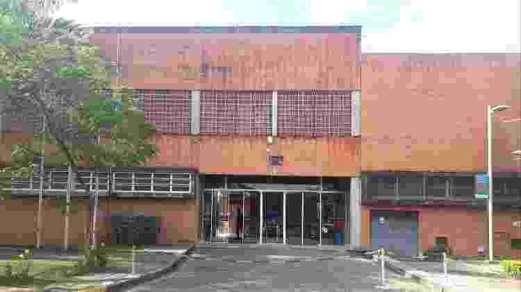 Prédio administrativo da Poli, onde ocorreu o acidente no dia  - Wanderley Preite Sobrinho/UOL - Wanderley Preite Sobrinho/UOL