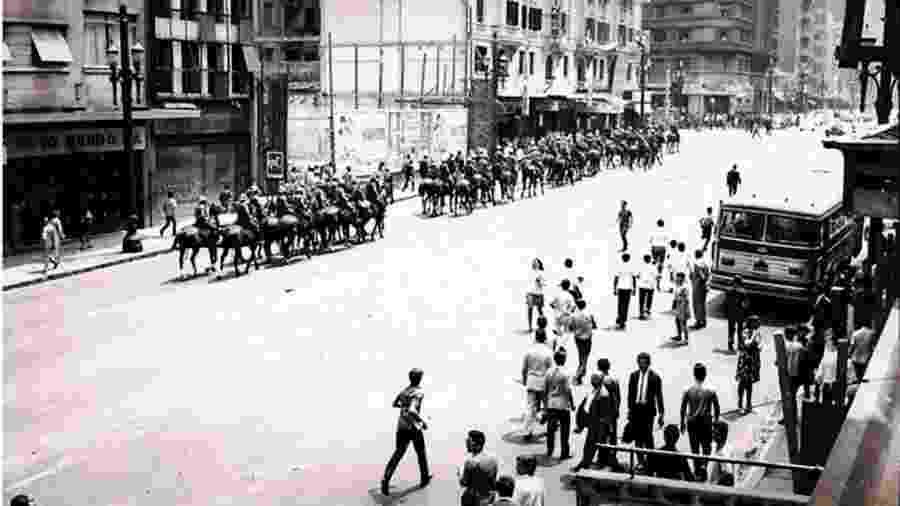 Brasil durante ditadura militar, quando houve a mais grave epidemia de meningite de sua história - Arquivo Nacional