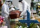 A farsa dos caixões vazios usados para minimizar mortes por covid-19 - Reuters