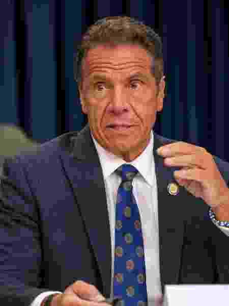 O governador de Nova York, Andrew Cuomo - David Dee Delgado/Getty Images/AFP